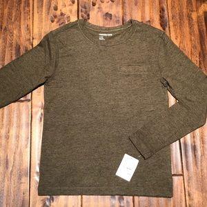 Tucker + Tate long sleeve pocket front T-shirt